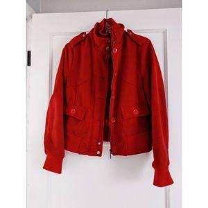 Red Sound & Matter coat